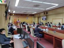 Cung cấp và lắp đặt thiết bị hội thảo CCS-900 cho Bộ Y Tế ( chống dịch COVID-19)