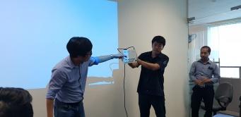 Tập đoàn TOA training sản phẩm mới tại văn phòng VMV.
